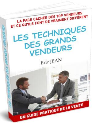 Livre Les techniques des grands vendeurs